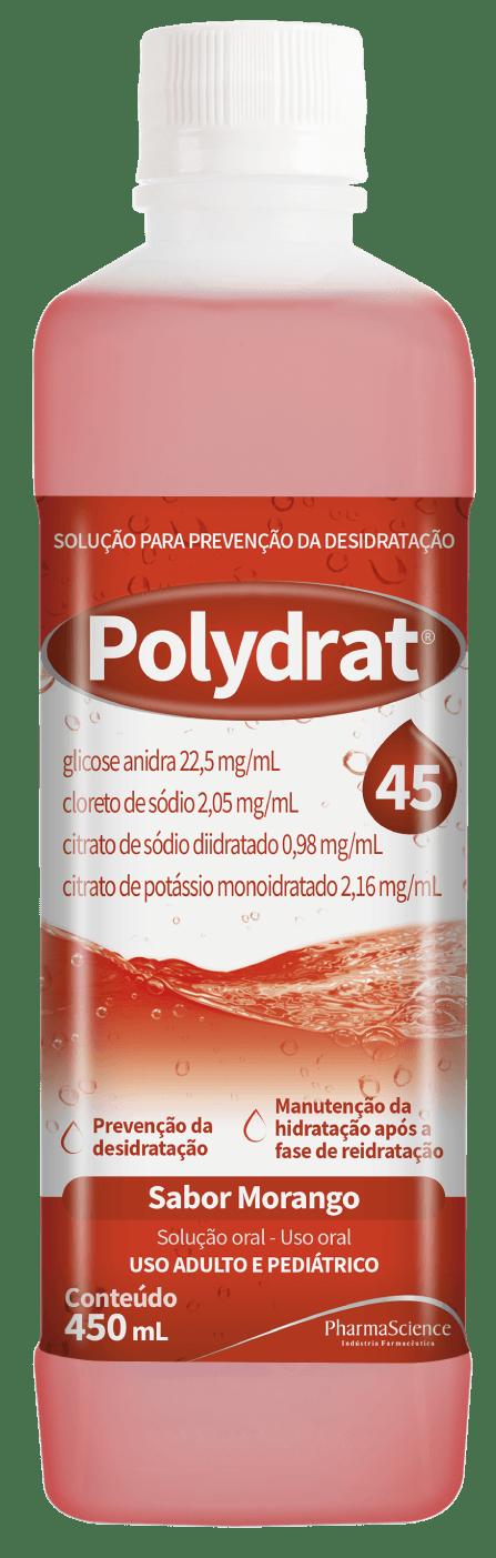 Polydrat 45 Morango - PharmaScience Indústria Farmacêutica