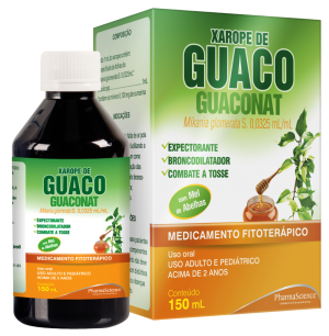 Guaconat Xarope para Tosse - PharmaScience Indústria Farmacêutica