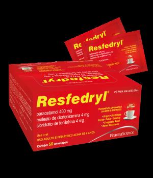 Resfedryl Pó para solução oral 5g - Medicamento para Gripes e Resfriados