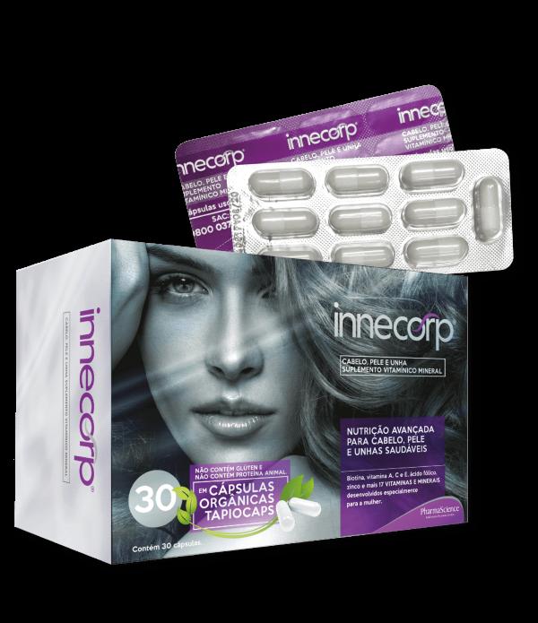 Innecorp Cabelo Pele e Unhas - Suplemento Vitamínico